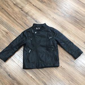 Boys Faux leather Jacket